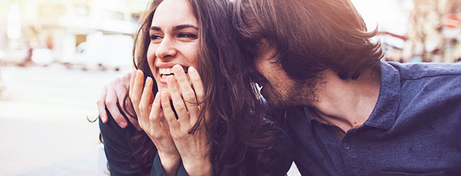 Flirt gesten frau