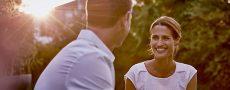 Mann und Frau als Singles aus Süddeutschland
